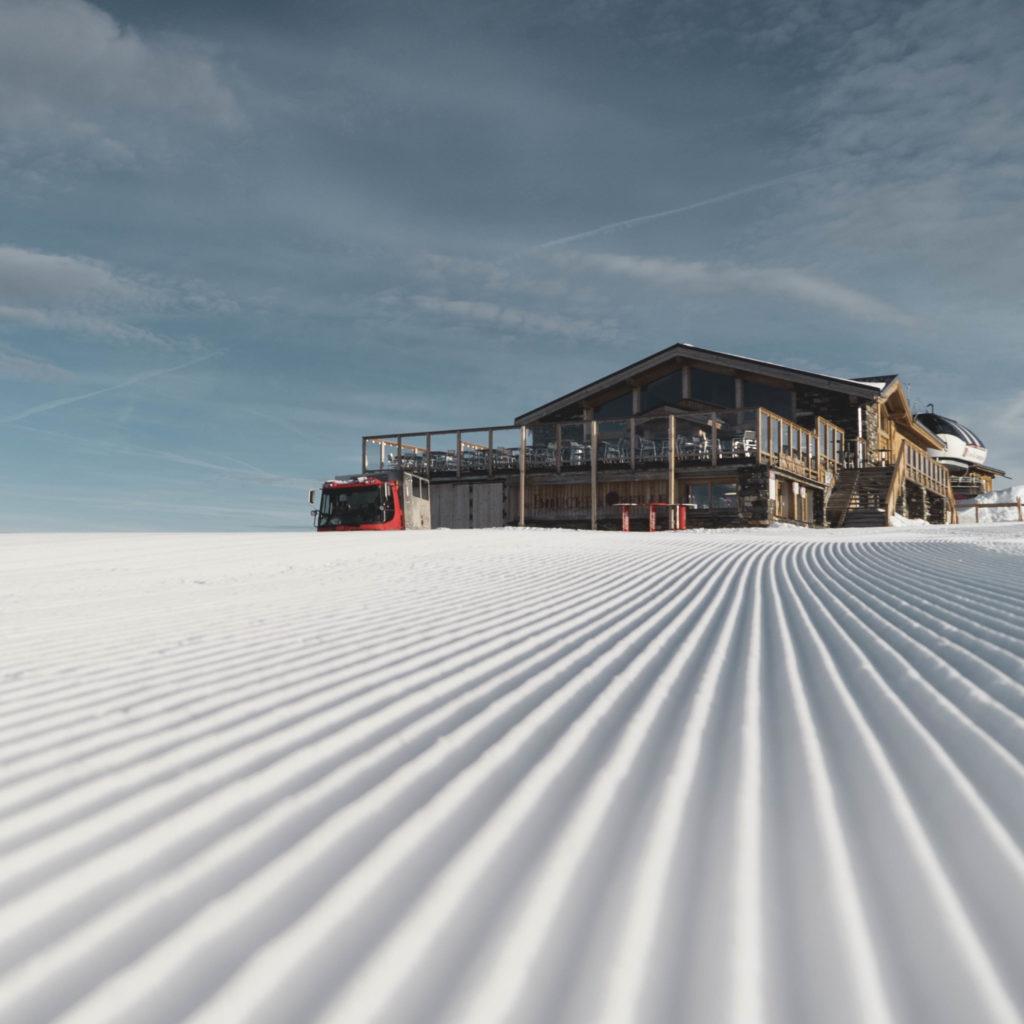 Les Menuires, wintersportparel in de Franse Alpen