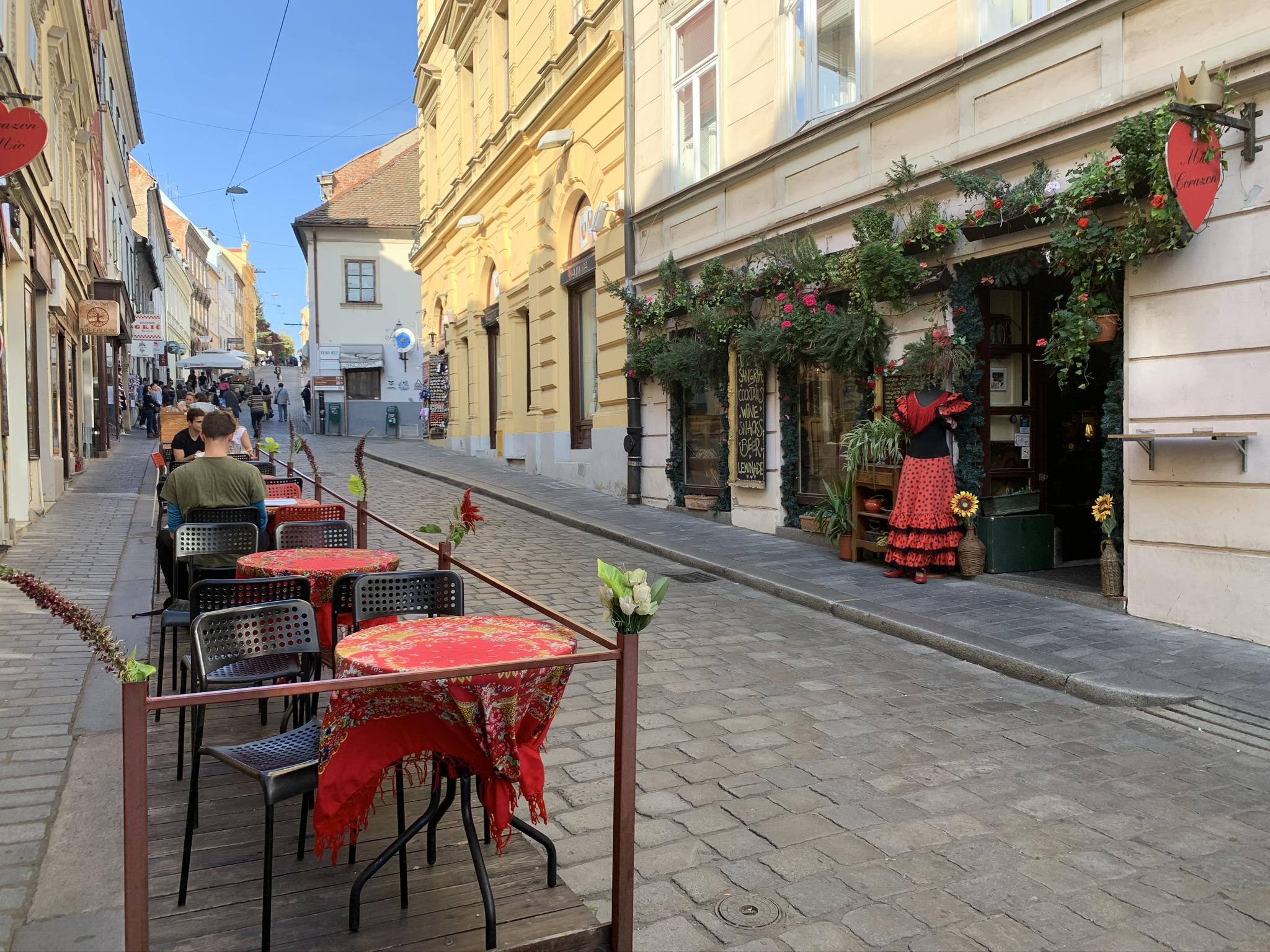 Nazomeren in Zagreb, stedentrip Kroatië